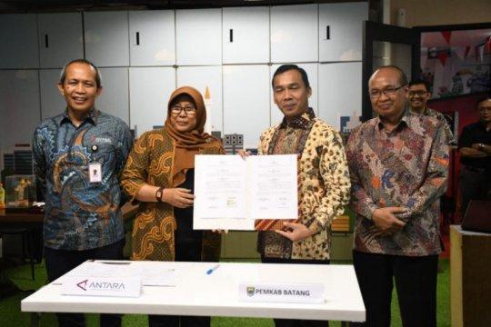 Pemkab Batang-ANTARA kerja sama bidang informasi pelayanan publik