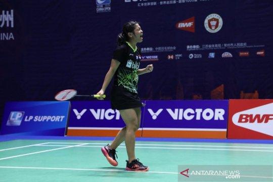 Korea Open 2019, Gregoria susul Fitriani ke babak dua