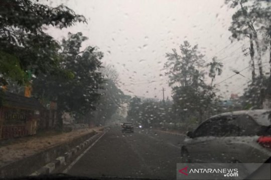 Doa Istisqa digelar, hujan padamkan api Bulungan