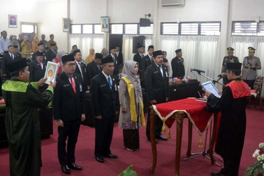 Bambang Irawan resmi menjadi Ketua DPRD Kabupaten Purbalingga