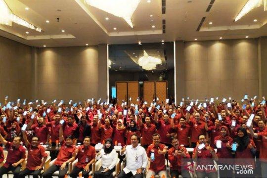 Kemensos mulai terapkan aplikasi e-PKH di Jawa Timur