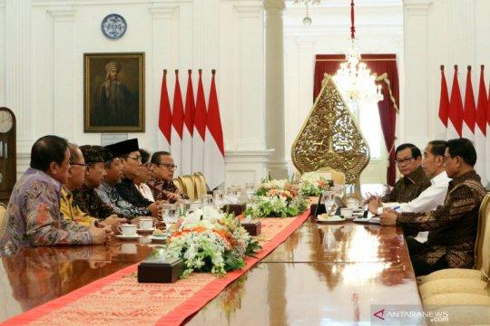 Presiden dan tokoh agama bahas kondisi bangsa