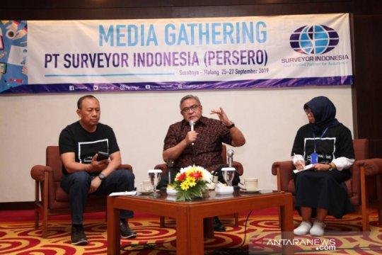 Surveyor Indonesia optimistis capai target pendapatan Rp1,4 triliun