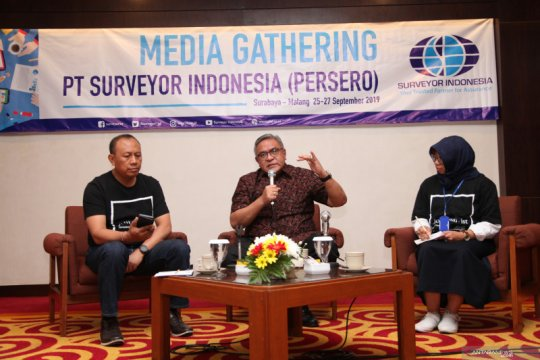 Surveyor Indonesia bukukan pendapatan Rp842 miliar per Agustus 2019