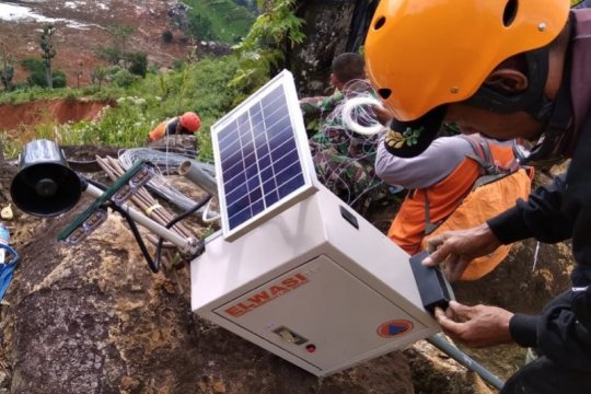 BPBD Banjarnegara terus berkomitmen kembangkan alat deteksi longsor