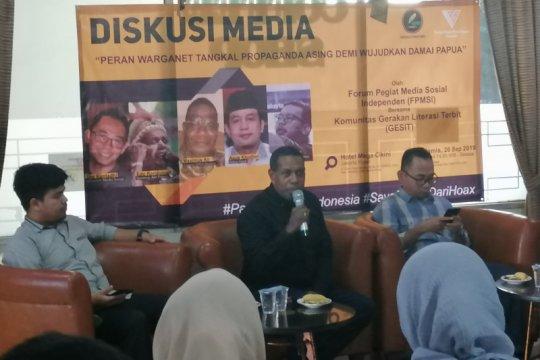 Edo Kondologit: Pemerintah selesaikan Papua secara komprehensif