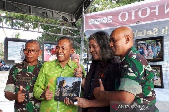 PFI Palu-LKBN Antara buka pameran foto Sulteng bangkit pascabencana