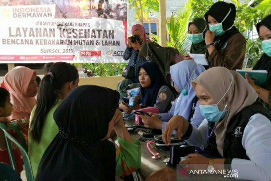ACT Sumsel - STIK Bina Husada buka posko kesehatan di lokasi Karhutla