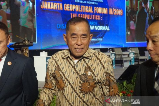 Menhan sebut Indo-Pasifik sebagai sentra perebutan pengaruh ideologis