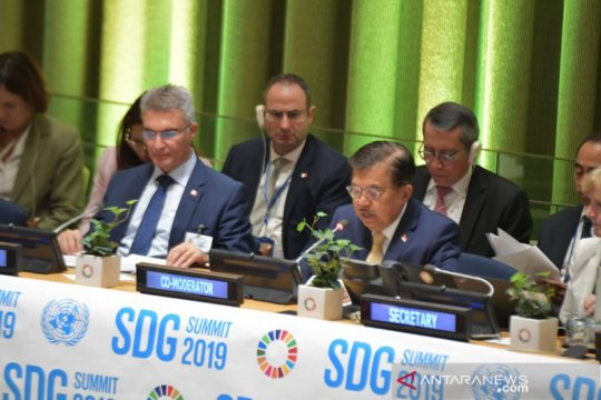 Di PBB, Wapres JK tegaskan komitmen Indonesia jadi negara maju