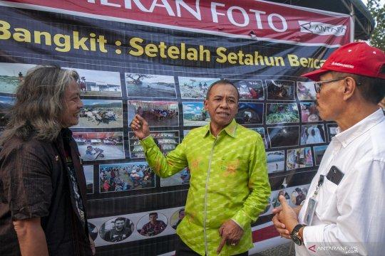 Pameran foto setahun bencana Sulteng