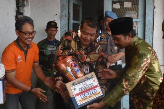 Pemkab Wonosobo berikan bantuan korban puting beliung