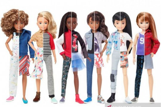"Mattel rilis boneka ""netral gender"""
