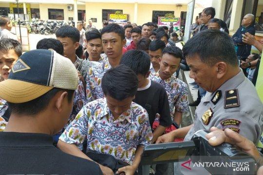 Polisi amankan ratusan siswa SMK mau demo ke Jakarta
