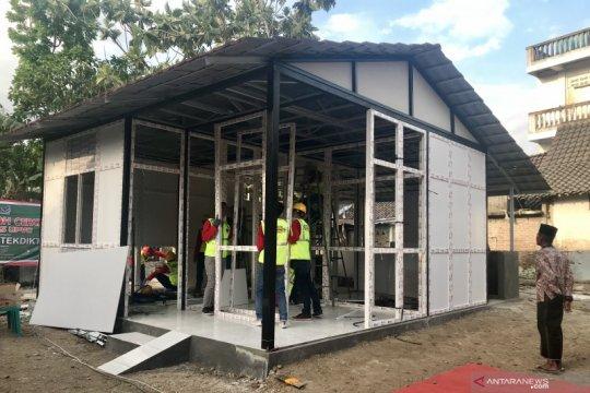 Menristekdikti uji coba UPVC untuk rumah tahan gempa di Ngawi