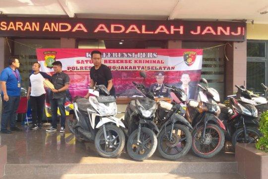 Polisi tangkap lima pelaku pencurian motor di Jakarta Selatan