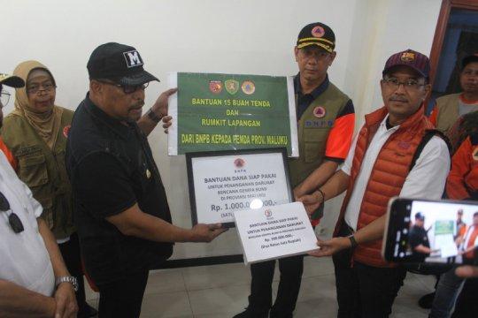BNPB bantu Rp1 miliar untuk penanganan gempa Ambon