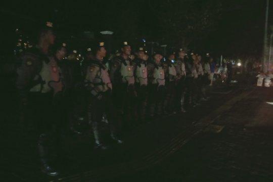 Kepolisian masih bersiaga meski massa HMI telah membubarkan diri