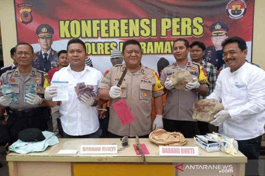 Polisi bekuk tiga pelaku pembunuhan berencana di Indramayu