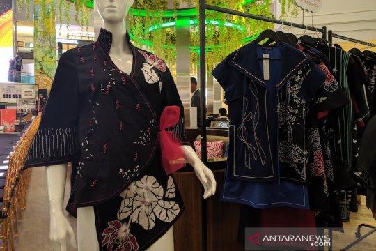 Batik Betawi karya ibu-ibu Marunda yang kaya motif