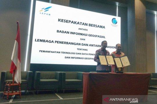 Lapan tanda tangani 15 perjanjian kerja sama dengan lembaga dan pemda