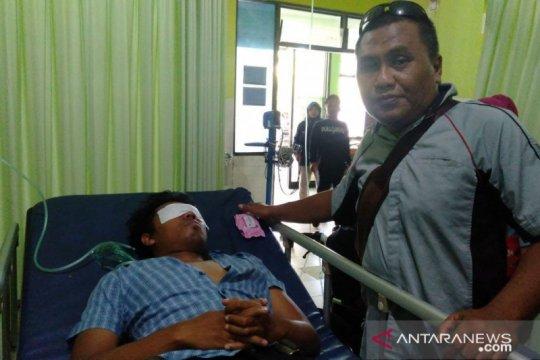 Jurnalis korban tembakan gas air mata di Pamekasan membaik