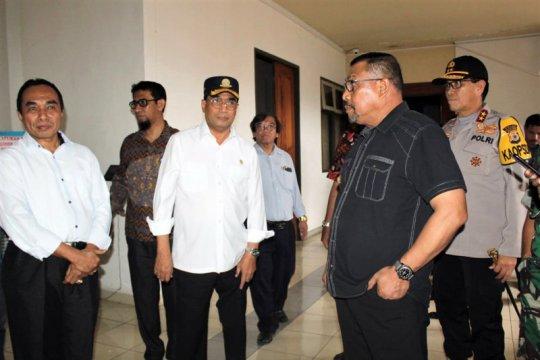Menhub lapor kerusakan gedung Unpatti Ambon ke Menteri PUPR