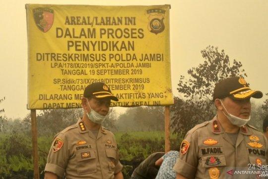 Kasus Karhutla, Polda Jambi naikkan status PT DSSP tahap penyidikan