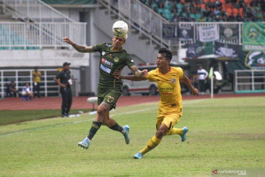 Tira Persikabo-Semen Padang imbang 1-1