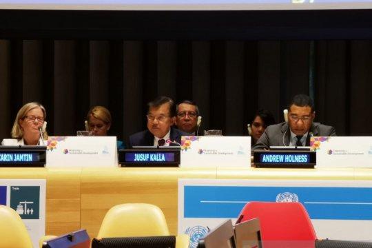 Wapres JK jelaskan upaya Indonesia atasi kesenjangan pembiayaan