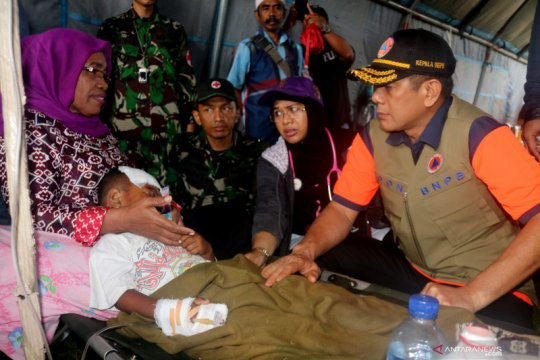 Kepala BNPB: Kembali ke rumah bila dua jam tidak ada gempa susulan