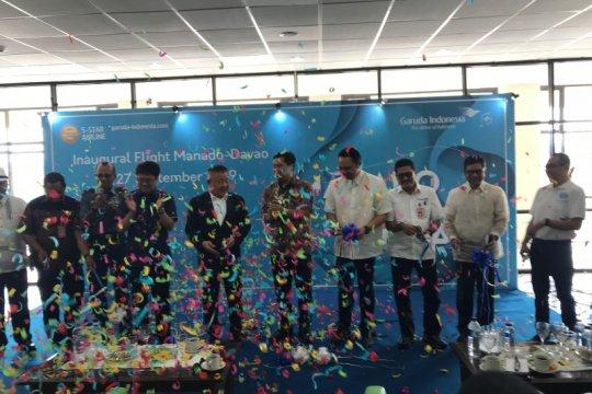 Garuda Indonesia mulai layani penerbangan Manado-Davao hari ini