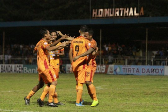 Tekuk Sriwijaya FC 1-0, Persiraja perpanjang rekor kemenangan kandang