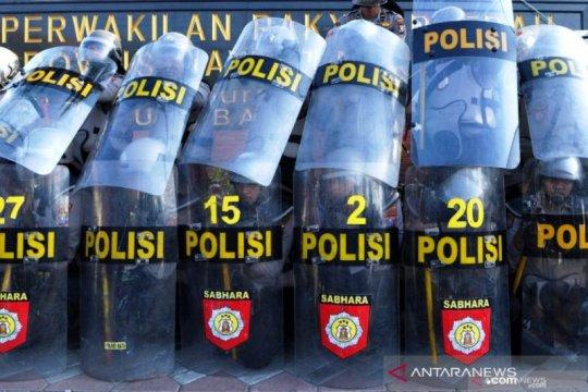 Polisi pulangkan 50 terduga provokator saat demo di Surabaya