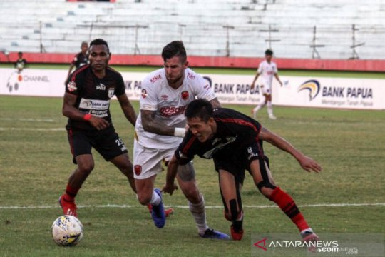 Pelatih PSM tak kecewa meski kalah oleh Persipura