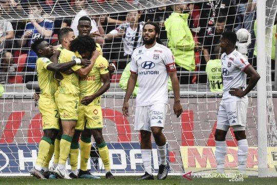 Lyon dikalahkan Nantes, enam laga tanpa kemenangan