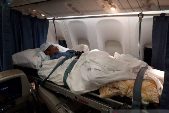 Tiga haji pulang ke Tanah Air setelah pulih dari sakit di Arab Saudi