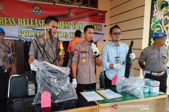 Polres Barito Timur amankan dua pembakar lahan