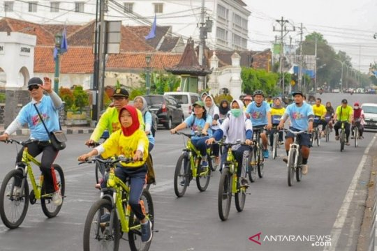 Jogja Bike jelajahi kampung wisata Yogyakarta