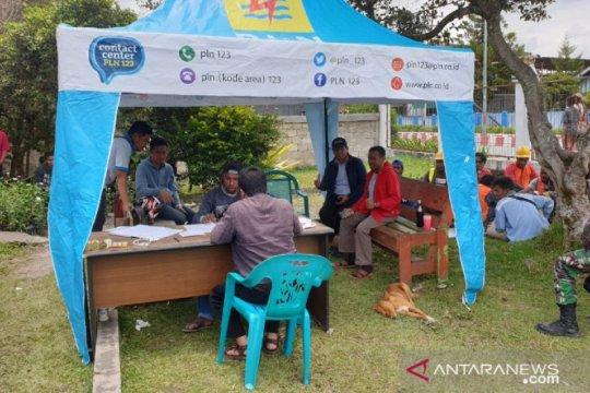 Papua terkini - PLN buka posko pelayanan sementara di Wamena