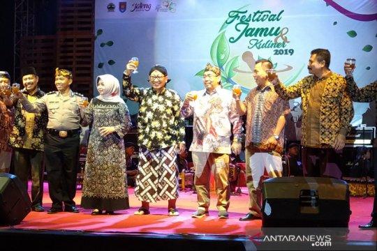 Pemprov Jawa Tengah ajak generasi milenial minum jamu