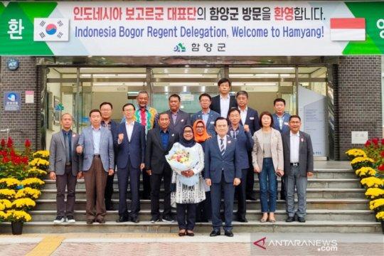 Banyak kesamaan program, Bogor-Hamyang Gun jalin kerja sama