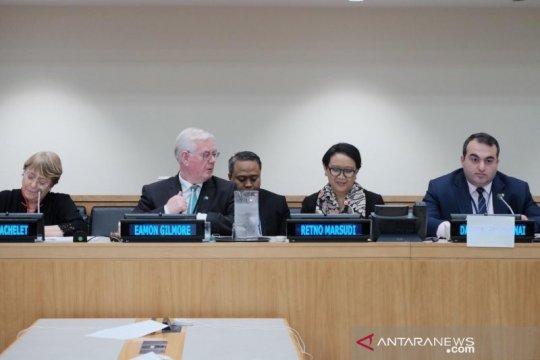 Menlu berbagi kisah pemberdayaan perempuan Indonesia di PBB