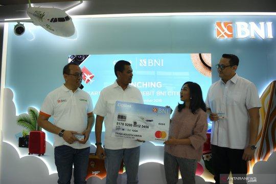 Peluncuran kartu Co Brand Debit BNI Citilink