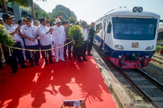 KAI luncurkan kereta Jakarta-Bandung dengan waktu tempuh lebih cepat