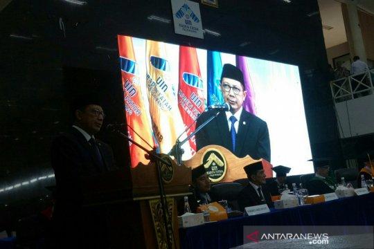 Menteri Agama minta wisudawan UIN Palembang pahami moderasi Islam