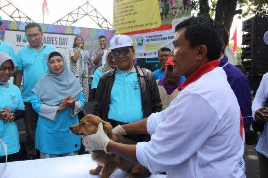 Kementan berikan bantuan 16.000 dosis vaksin rabies