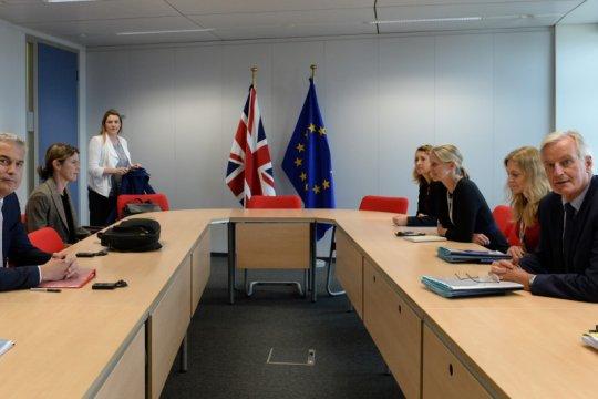 PM Inggris desak Presiden Prancis 'percepat' soal Brexit