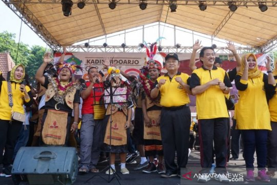 Kabupaten Sidoarjo deklarasikan cinta Papua