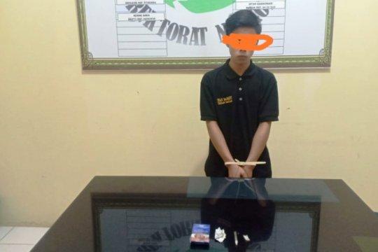 Napi Rutan Maninjau meringkuk di Mapolres Agam atas kasus narkotika